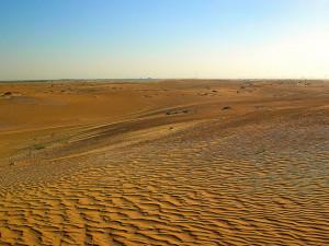صحراء ابوظبي